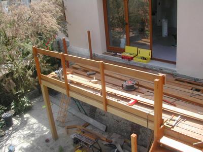 R alisations archives senechal couverture - Realisation plancher bois etage ...