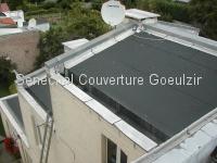 Exemples de toitures bitumées