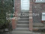 Réfection d'un escalier en béton. Après Travaux