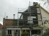 Pendant les travaux (façade avant)