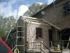 Restauration d'une cuisine : toiture.