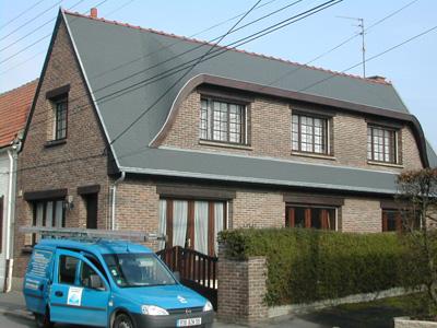 Rénovation toiture chantier terminé