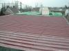 Réfection d'une ancienne toiture plate en bitume.