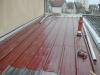 Réfection d'une toiture de garage.