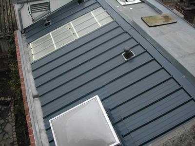 Toitures en t les isolantes par senechal couverture goeulzin for Tole isolante pour toiture
