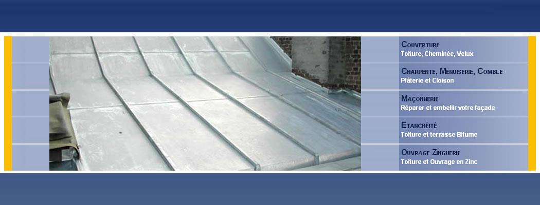 <blockquote>Dans cette section vous trouverez photos et descriptions de toitures en zinc réalisées par SENECHAL COUVERTURE Toitures inclinées et plates en zinc et autres réalisations en zinguerie</blockquote>